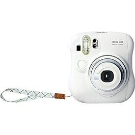 富士フイルム FUJIFILM インスタントカメラ instax mini 25 『チェキ』 ホワイト 純正ハンドストラップ付き[チェキ 本体 カメラ INSMINI25WTN]