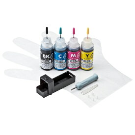 サンワサプライ SANWA SUPPLY INK-C351S30S4 詰め替えインク 4色[INKC351S30S4]【wtcomo】