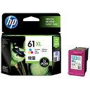 【あす楽対象】 HP 【純正】HP 61XL インクカートリッジ(3色カラー・増量) CH564WA