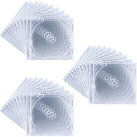 サンワサプライ SANWA SUPPLY Blu-ray/DVD/CD対応収納ケース 1枚収納×30 クリア FCD-PN30C[FCDPN30C]