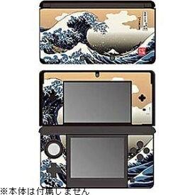 ゲームテック GAMETECH 彩装飾シート 津波<北斎>【3DS】