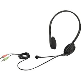 BUFFALO バッファロー BSHSH14BK ヘッドセット ブラック[φ3.5mmミニプラグ /両耳 /ヘッドバンドタイプ][BSHSH14BK]