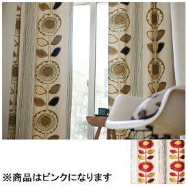 スミノエ SUMINOE ドレープカーテン サンフラワー(100×200cm/ピンク)【日本製】[V1211100X200]