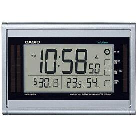 カシオ CASIO 掛け置き兼用時計 【wave ceptor(ウェーブセプター)】 シルバー IDS160J8JF [電波自動受信機能有][IDS160J8JF]