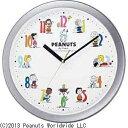 リズム時計 Rhythm Watch 掛け時計 「スヌーピー」 4KG712MA19