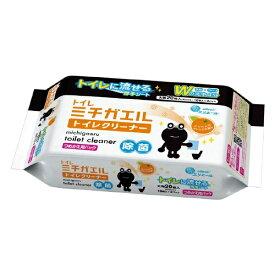 大王製紙 Daio Paper elleair(エリエール) ミチガエルトイレクリーナー つめかえ用 20枚入〔トイレ用洗剤〕【rb_pcp】