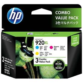 HP ヒューレット・パッカード E5Y50AA 純正プリンターインク 920XL 3色マルチパック[E5Y50AA]
