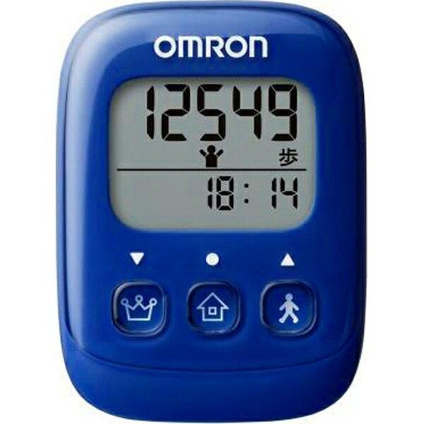 オムロン OMRON 歩数計 HJ-325-B ブルー[HJ325B]