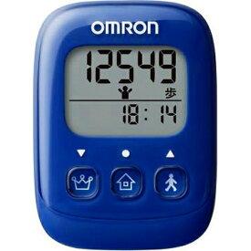 オムロン OMRON HJ-325-B 歩数計 ブルー [装着フリー][HJ325B]