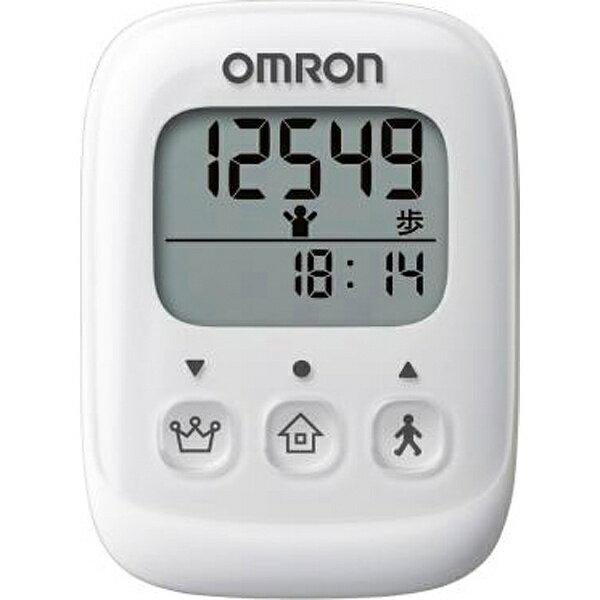 オムロン OMRON 歩数計 HJ-325-W ホワイト[HJ325W]