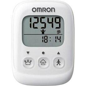 オムロン OMRON HJ-325-W 歩数計 ホワイト [装着フリー][HJ325W]