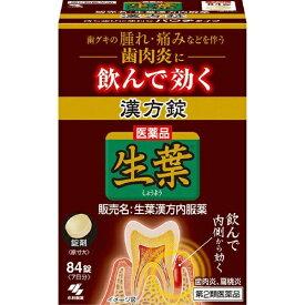 【第2類医薬品】 生葉錠(84錠)【wtmedi】小林製薬 Kobayashi