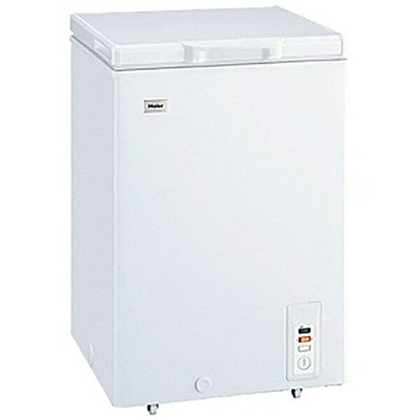 【標準設置費込み】 ハイアール Haier チェスト式冷凍庫 (103L) JF-NC103F-W ホワイト[JFNC103F]