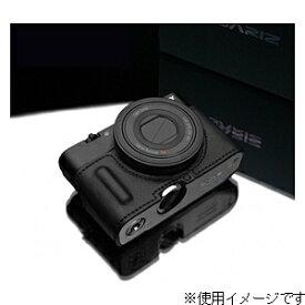 GARIZ ゲリズ 本革カメラケース 【ソニー サイバーショット DSC-RX100/RX100M2兼用】(ブラック) HG-RX100IIBK[生産完了品 在庫限り][HGRX100IIBK]