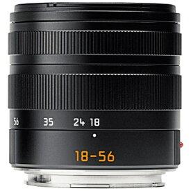 ライカ Leica カメラレンズ T F3.5-5.6/18-56mm ASPH. Vario Elmar(バリオ・エルマー) ブラック [ライカT /ズームレンズ][バリオ・エルマーTF3.55.6185]