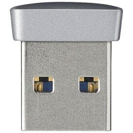 BUFFALO バッファロー RUF3-PS64G USBメモリ シルバー [64GB /USB3.0 /USB TypeA][RUF3PS64GSV]