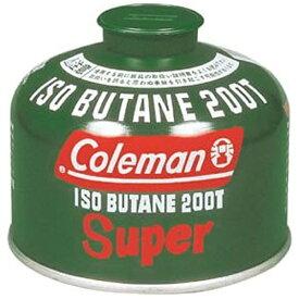 コールマン Coleman 純正イソブタンガス燃料 Tタイプ(230g) 5103A200T