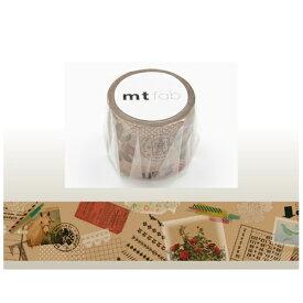 カモ井加工紙 KAMOI mt マスキングテープ mt fabワックスペーパー(コラージュ) MTWX1P04