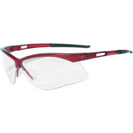 トラスコ中山 二眼型セーフティグラス フレームレッド TSG8106RE