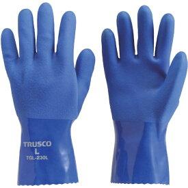 トラスコ中山 耐油ビニール手袋 LLサイズ TGL230LL