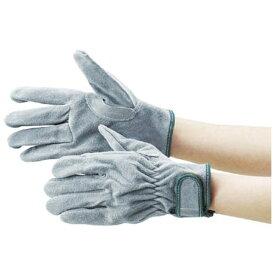 トラスコ中山 オイル加工革手袋 マジック式 フリーサイズ TYK717PW