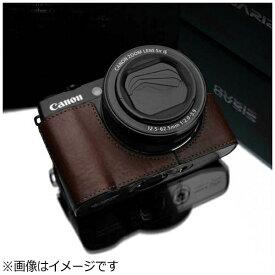Kカンパニー 本革カメラケース 【キヤノン PowerShot G1 X Mark II用】(ブラウン) XS-CHG1X2BR[XSCHG1X2BR]