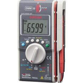 三和電気計器 sanwa ハイブリットミニテスタ(マルチメータ+クランプメータ) PM33A