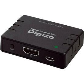 プリンストン PRINCETON HDMIスプリッター デジ像 PHM-SP102A [1入力 /2出力 /4K対応][PHMSP102A]