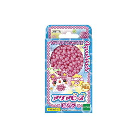 エポック社 EPOCH アクアビーズアート☆ピンク