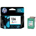 HP 【純正】 HP136 プリントカートリッジ (3色カラー) C9361HJ