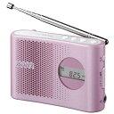 ソニー 【ワイドFM対応】FM/AM 携帯ラジオ(ピンク) ICF-M55[ICFM55]