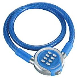 ブリヂストン BRIDGESTONE メタルワイヤーロック プッシュポンロック(ブルー) WL-PPL[WLPPL]