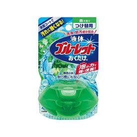 小林製薬 Kobayashi 液体ブルーレットおくだけ 森の香り 無色の水 つめかえ用〔トイレ用洗剤〕【rb_pcp】
