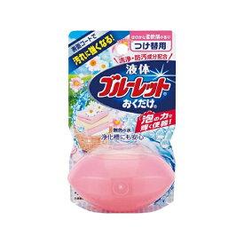 小林製薬 Kobayashi 液体ブルーレットおくだけ ほのかな柔軟剤の香り 無色の水 つめかえ用〔トイレ用洗剤〕【wtnup】