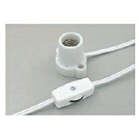 ELPA エルパ コード付ソケット(コンセント用・口金E17) KP-M1715H-W ホワイト[KPM1715HW]