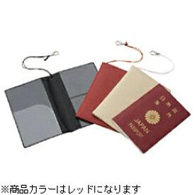JTB SWT スキミング予防対策パスポートカバー レッド[354402]