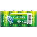 東芝 TOSHIBA R20P EM 4MP 単1電池 KING POWER CREEK(キングパワークリーク) [4本 /マンガン][R20PEM4MP]