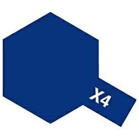 タミヤ TAMIYA タミヤカラー アクリルミニ X-4 ブルー【rb_pcp】