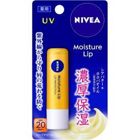 花王 Kao NIVEA(ニベア) モイスチャーリップ UV 3.9g 〔リップクリーム〕