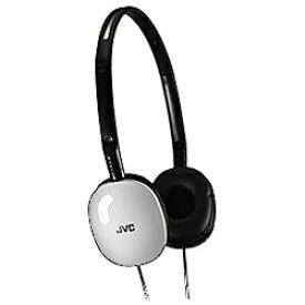 JVC ジェイブイシー ヘッドホン HA-S160-W ホワイト [φ3.5mm ミニプラグ][HAS160W]