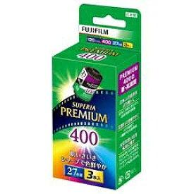 富士フイルム FUJIFILM PREMIUM 400 27枚撮り(3本パック)[135PREMIUM400R27EX3S]