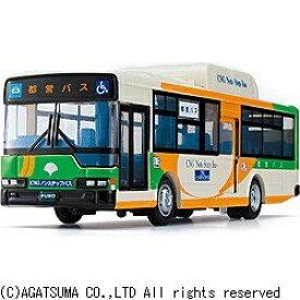 アガツマ AGATSUMA ダイヤペット DK-4104 ノンステップ都営バス[DK4104]