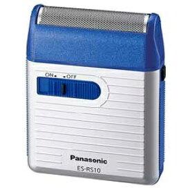 パナソニック Panasonic ES-RS10 メンズシェーバー 青 [1枚刃][ESRS10A 電気シェーバー]