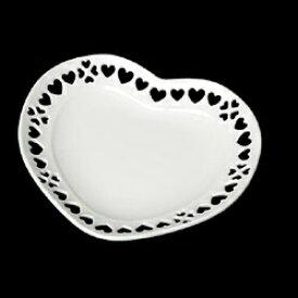 タミヤ TAMIYA ミニチュア食器 ハートのお皿(白・87ミリ)
