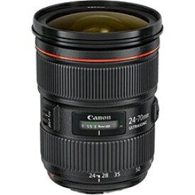 キヤノン CANON カメラレンズ EF24-70mm F2.8L II USM ブラック [キヤノンEF /ズームレンズ][ズームレンズ 交換レンズ EF2470L2]