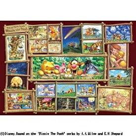 テンヨー 【世界最小1000ピース】 ジグソーパズル アート集 くまのプーさん