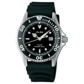 アルバ ALBA [ソーラー時計]アクアギア 「200m防水ダイバー」 AEFD530