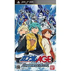 バンダイナムコエンターテインメント BANDAI NAMCO Entertainment 機動戦士ガンダムAGE ユニバースアクセル【PSPゲームソフト】