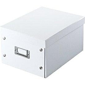 サンワサプライ SANWA SUPPLY Blu-ray/DVD/CD対応組み立て式BOX ホワイト FCD-MT4W[FCDMT4W]