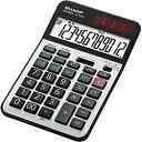 シャープ SHARP 実務電卓 ナイスサイズタイプ EL-N942-X [12桁][ELN942X]